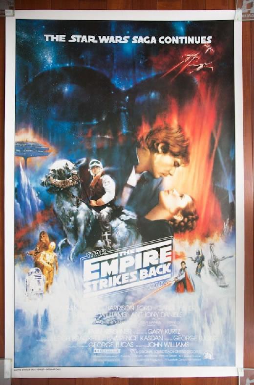 STAR WARSThe Empire Strikes Back『スター・ウォーズ/帝国の逆襲 』米国版大型ポスターオリジナル非売品 Aタイプ