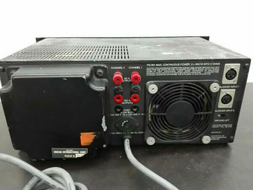 ジャンク FM ACOUSTICS FM801 パワーアンプ 貴重品