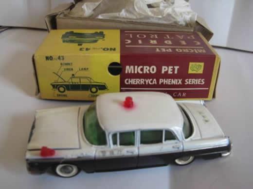超絶版 大盛屋 ミクロペット パトロールカー セドリック