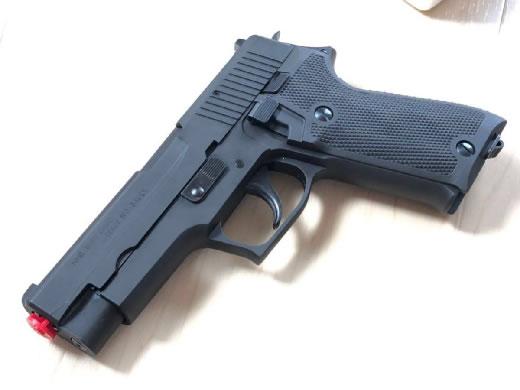 タナカ 9mm 拳銃 Vr2 ヘビーウエイト P220 自衛隊 陸上自衛隊
