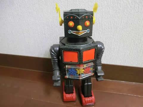 ビンテージ ブリキ ロボット レア 箱付き ジャンク 当時物