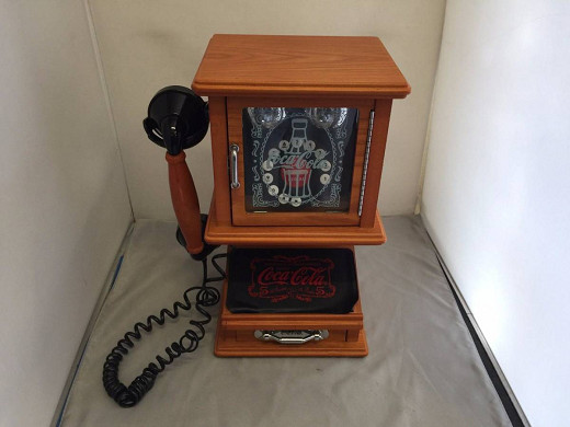 ♪♪レア コカ・コーラ レトロ公衆電話機♪♪