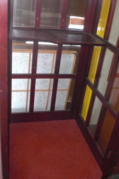 アンティーク 昭和レトロ 公衆 電話ボックス