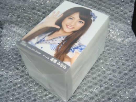 AKB48☆福袋4等当選 AKB+研究生コンプ 10月分トレーディング写真