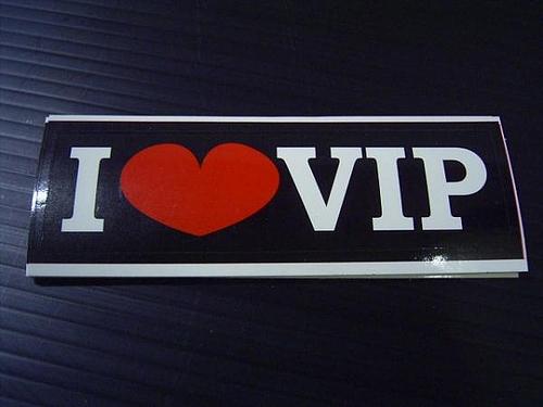 VIPステッカー