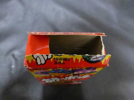 明治製菓 ホラーボール 箱 開封品 食玩 消しゴム