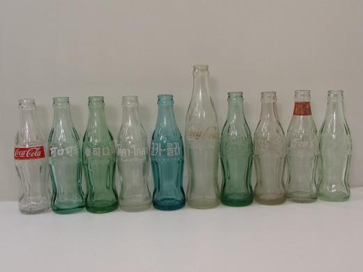 C-405 コカ・コーラ CocaCola 世界各国空き瓶 ビン 昭和レトロ ヴィンテージ まとめ売り