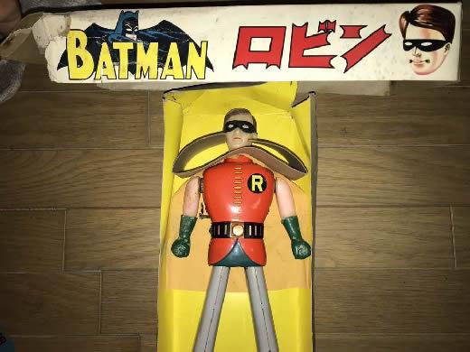 バットマン ロビン ブリキロボット