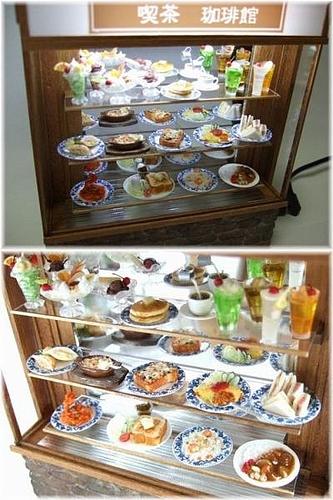 ヤフオク 出品 オークション 神職人 ドールハウス ミニチュア 喫茶店 食品サンプル セット