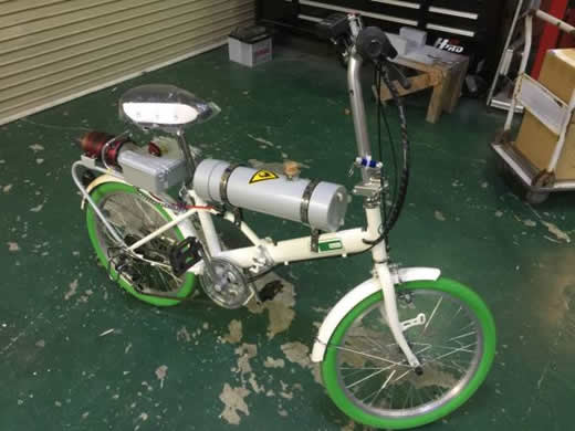 ★ジェットエンジン 搭載 自転車★Jet Engine★タービンエンジン