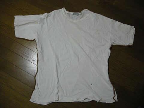 ヤフオク 【ぼろ】VIRUSのTシャツ(-. -;)