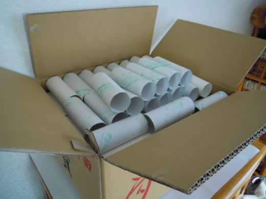 【トイレットペーパーの芯270本+ラップ芯4本】園児の工作に!