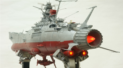 ★★完成品 SPACE BATTLESHIP YAMATO1/350★★