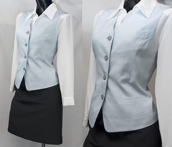 都内一流ホテル内 宮崎牛専門店 女子 社員 制服 ウェイトレス