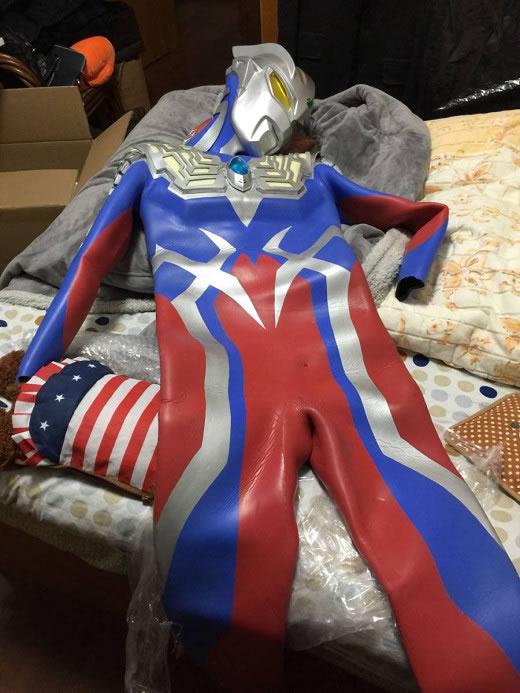ウルトラマンゼロコスチューム スーツ アトラク マスク一式