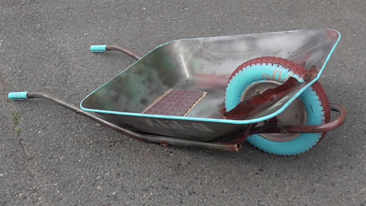 ラットスタイル 錆 インテリアガレージ イベント 運搬 ローダウン ガーデニング 未使用品 看板サイン 一輪車