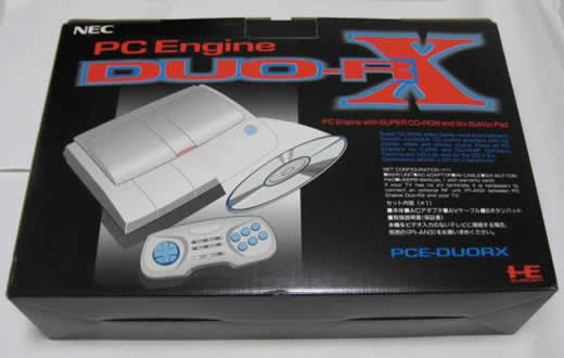 【未使用】 PCエンジンDUO-RX本体 & 周辺機器2点 送料込み