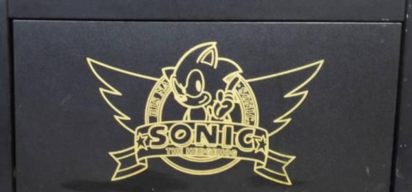 ■SEGA メーカー純正 GAME BOX 木箱 SONIC 超レア 当時物 景品?