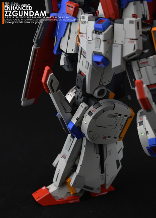 ◆MG 1/100 ZZガンダムVer.Ka[強化型]改修塗装済完成品◆