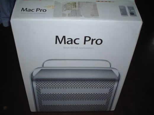 ★MAC pro の空箱★