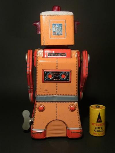 米澤製ブリキ玩具 コマンダーロボット/COMMANDER ROBOT/希少品!