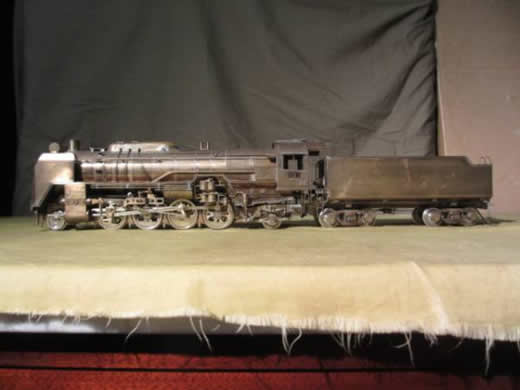 貴重品 古いOゲージ(1/43 32mm)ピノチオ模型特別完成 真鍮製 D52