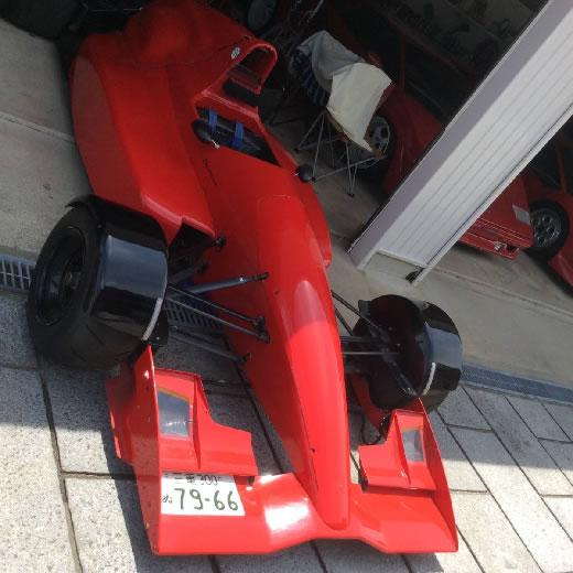 ナンバー付き F3000 世界に1台 公認車