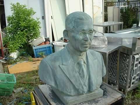 ヤフオク 出品 初代社長銅像ー300000円