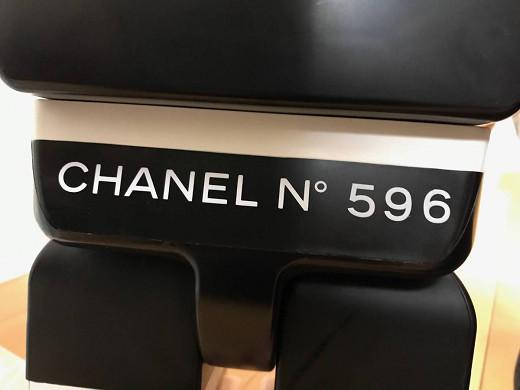 【非売品】 CHANEL シャネル×BE@RBRICK ベアブリック 1000% シリアル No.596 高さ約74cm 本物 超激レアです