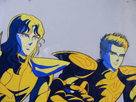 ☆聖闘士星矢「神闘士3人」のBANKセル画(荒木伸吾)