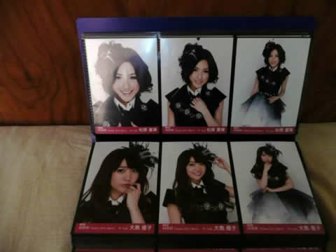 AKB48 スピードくじ4等 月別復刻版生写真 2012/3 フルコンプ