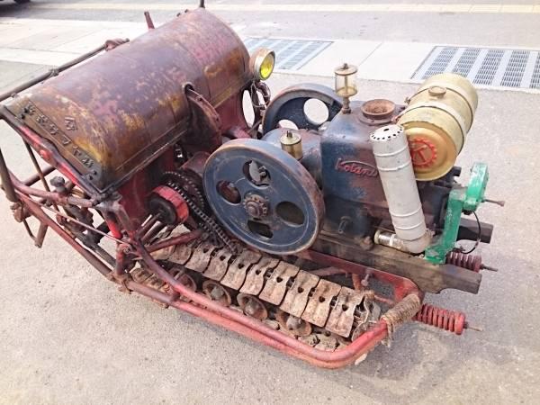戦後23年式 ヤマサ式自動耕耘機 レトロ飾って下さいませ