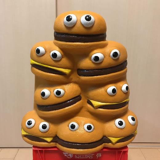 レア!ビンテージ マクドナルド ハンバーガー チェア 椅子 McDonald's