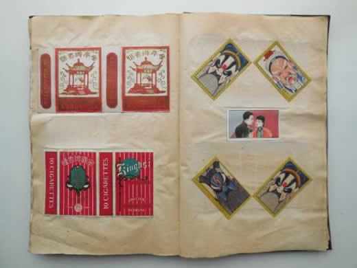 ★戦前 在支那紀念香煙集 中国煙草ラベルたばこカード190枚 満州