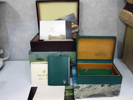 【箱】ROLEXロレックス 空箱 5種類 OYSTER