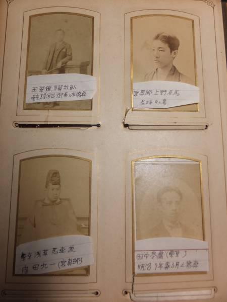 明治時代!徳川家旧蔵アルバム!上野彦馬内田九一撮影古写真有!