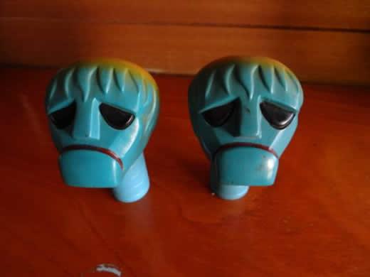 ジャンボマシンダー・ロクロンQ9の 頭部のみ
