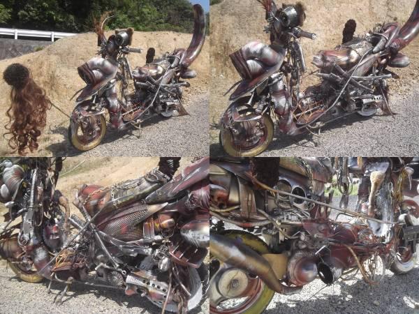 世紀末バイク 戦闘マシーン海賊 マッドマックス仕様 族車 旧車改