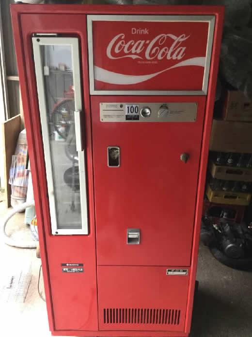 コカ コーラ 自動販売機 180ml専用 レトロ オブジェ ガレージ 照明