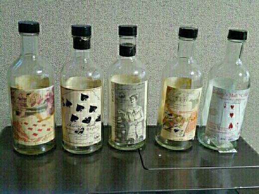 イチローズモルト ウイスキー カード ジョーカー等 空き瓶 1円〜