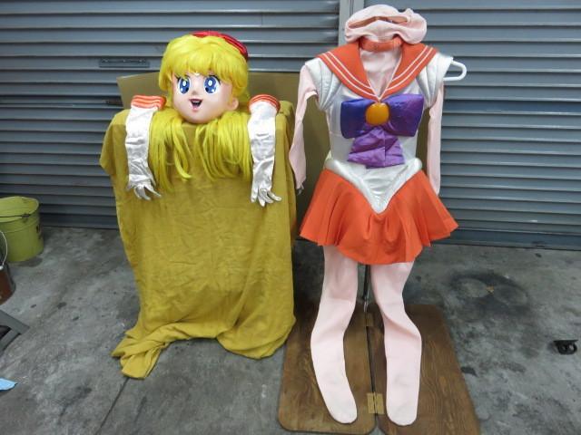 美少女戦士セーラームーン 着ぐるみマスク 衣装 セーラーヴィーナス