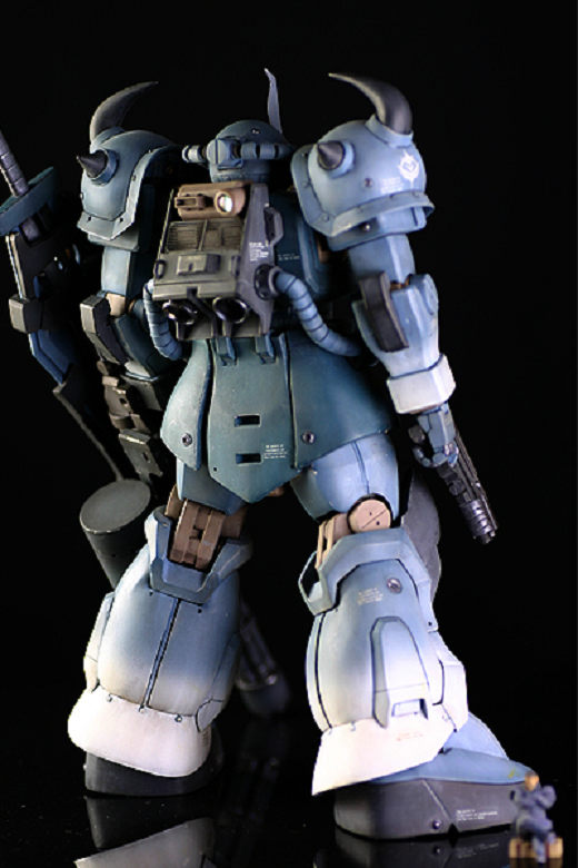 MG 1/100 グフカスタム 徹底改修完成品