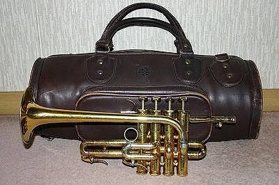 ヤフオク Schilke(シルキー)ピッコロ・トランペット P5-4 本皮鞄付き