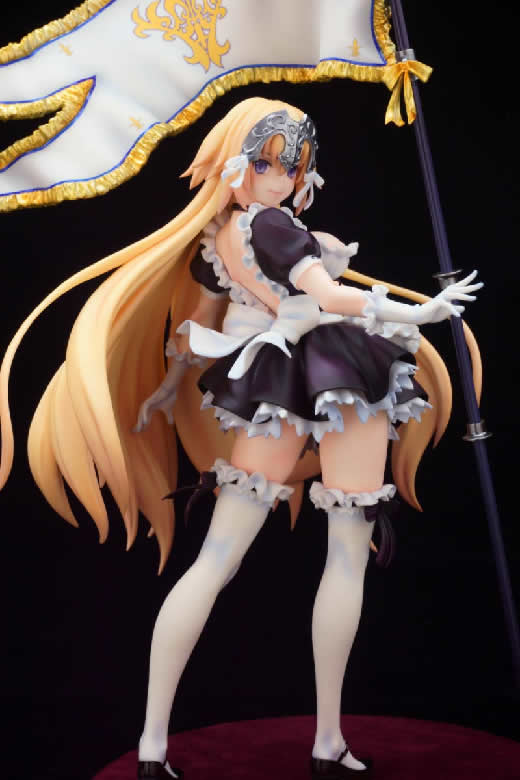 Fate/Grand Order グリズリーパンダ ジャンヌダルク メイドver. ガレージキット 塗装済み 完成品 ワンフェス 正規品