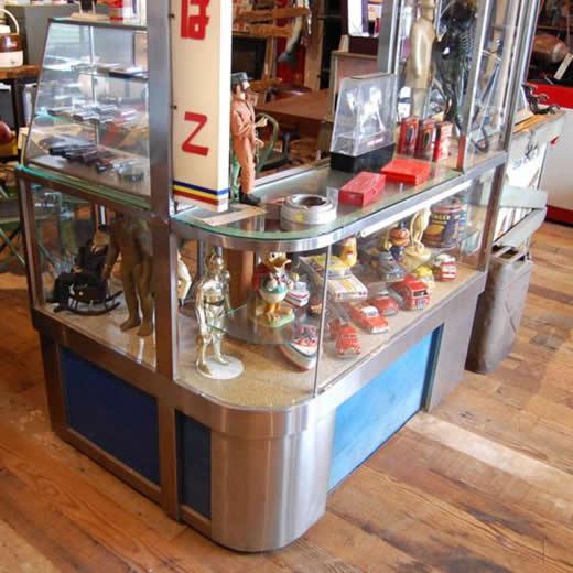 昭和レトロ 70年代 ヴィンテージ 古いタバコ屋 ガラスケース