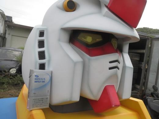求む!勇者!元祖大河原デザイン ガンダム胸像