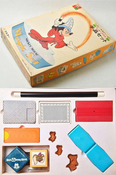 ●昭和レトロ ディズニー テンヨー 手品セット マジックセット