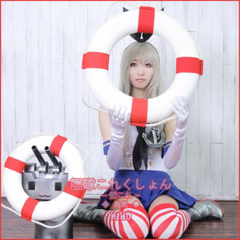 [HIHO]艦隊これくしょん~艦これ~◆島風◆コスプレ衣装FULL SET