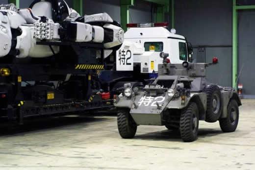 THE NEXT GENERATION パトレイバー 実写版 レイバー指揮車