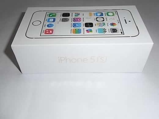 Softbank iPhone 5S Gold 64GB 外箱付属品空き箱 ゴールド 美品
